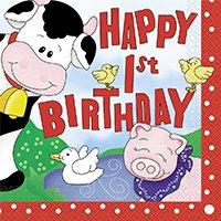 Barnyard 1st Birthday Theme
